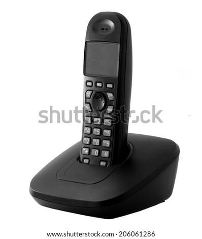 Cordless phone - stock photo