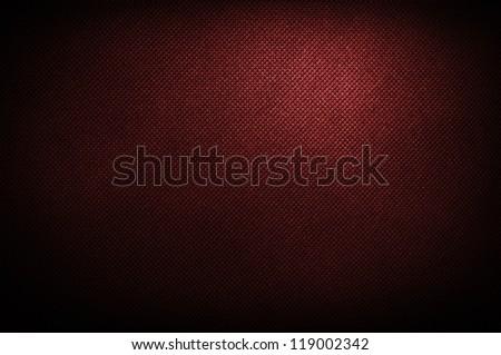 corduroy polipropylen red background - stock photo
