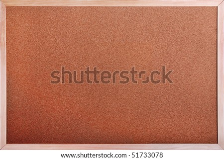 Cork board - stock photo