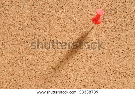 Cork board. - stock photo