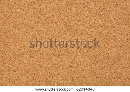 Cork-board background - stock photo