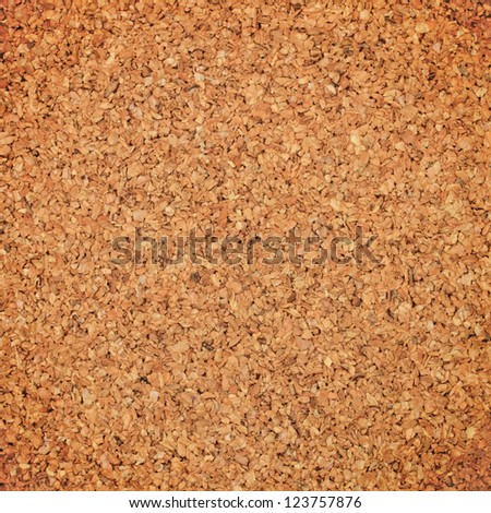 Cork board surface for background