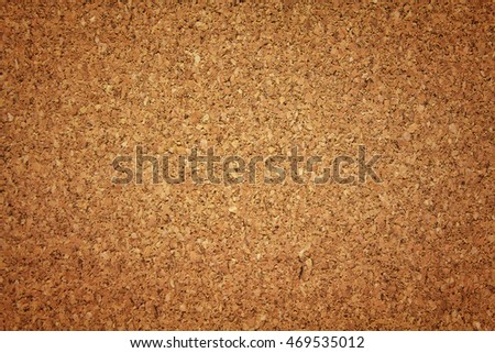 Cork board texture backgroun,Close up,select focus with shallow depth of field