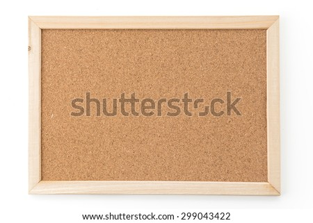 cork board texture for background - stock photo