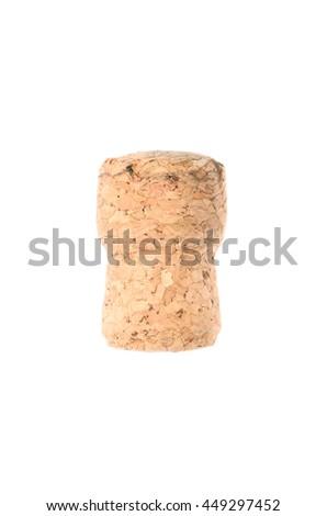 cork from wine - stock photo