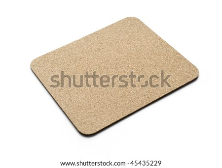 cork pad isolated