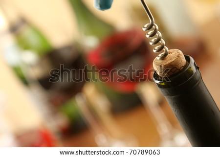 Cork Screw - stock photo
