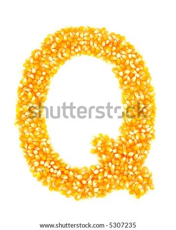 Corn Q - stock photo