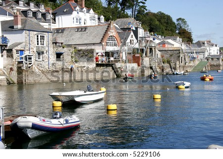 Cornish Village of Fowey