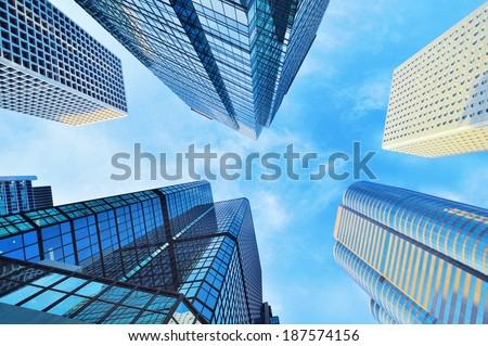 Corporate Buildings  - stock photo