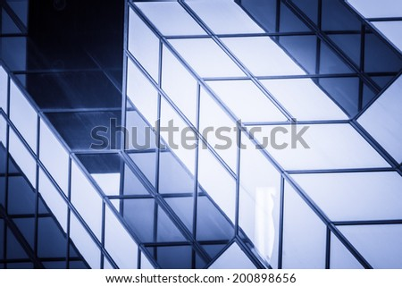 corporate buildings of hong kong - stock photo