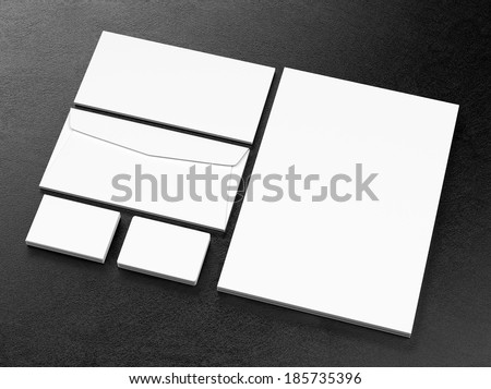 Corporate business template - stock photo