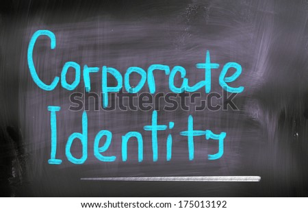 Corporate Identity Concept - stock photo