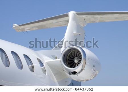 Corporate Jet - stock photo