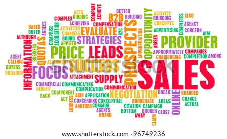 Corporate Sales and Marketing in a Company - stock photo