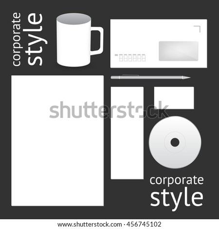 Corporate style template