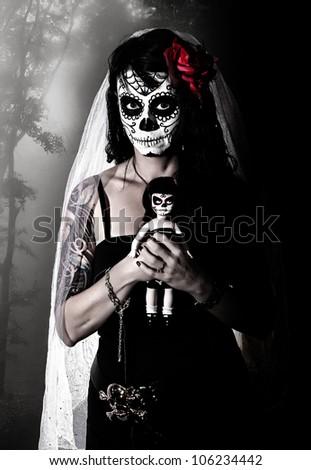 Corpse Bride - stock photo