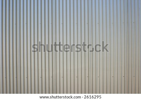 corrigated iron wall texture back ground image - stock photo