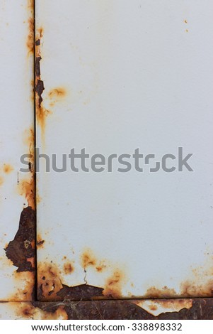 corrosion and rust - stock photo