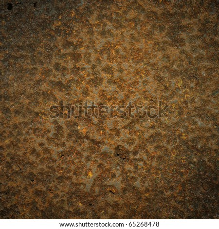 Corrosion metal sheet as background - stock photo
