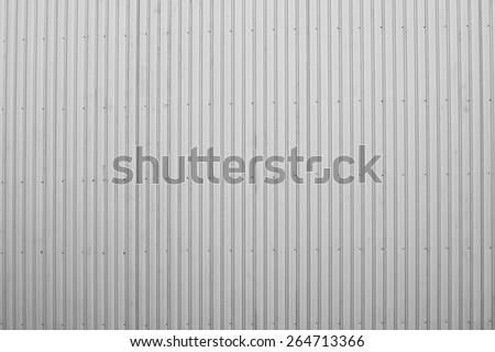 Corrugate Aluzinc background - stock photo