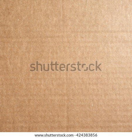 Corrugated cardboard texture useful as a background
