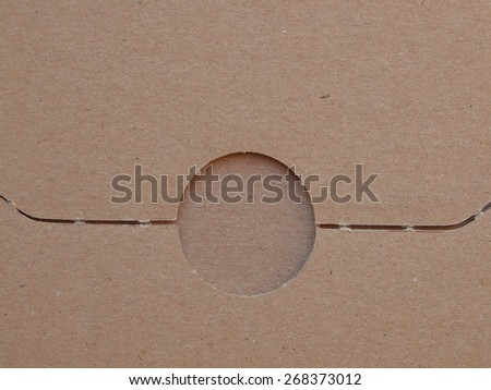 corrugated cardboard useful as a background - stock photo