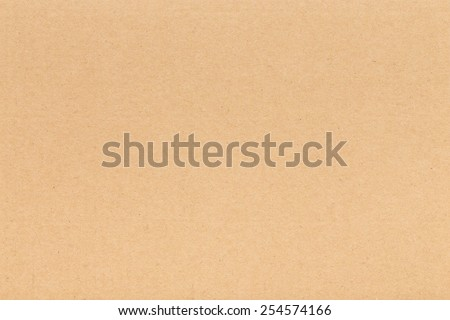 Corrugated paper cardboard background - stock photo