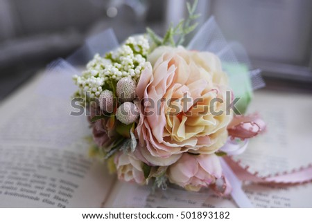 corsage stock images, royaltyfree images  vectors  shutterstock, Beautiful flower