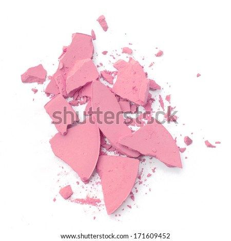 Cosmetic Pink Crushed  - stock photo