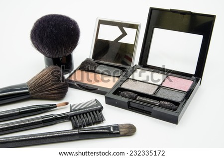 Cosmetic set - stock photo