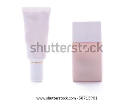 Cosmetic tubes - stock photo