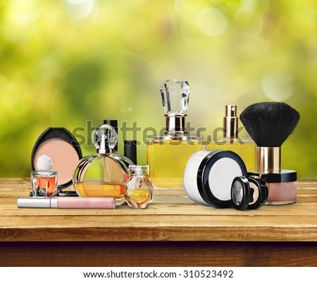 Cosmetics. - stock photo