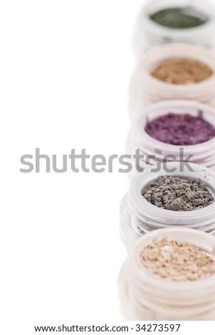 Cosmetics Colors - stock photo