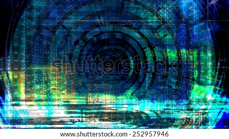 Cosmic abstract digital background.Science background.Internet technologies concept - stock photo