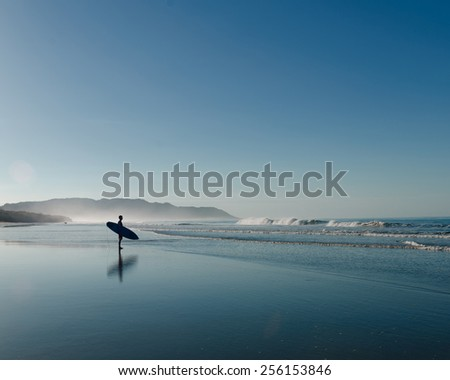 Costa Rica Surfer