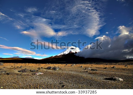 Cotopaxi - stock photo