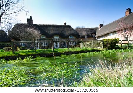 Cottage house - stock photo
