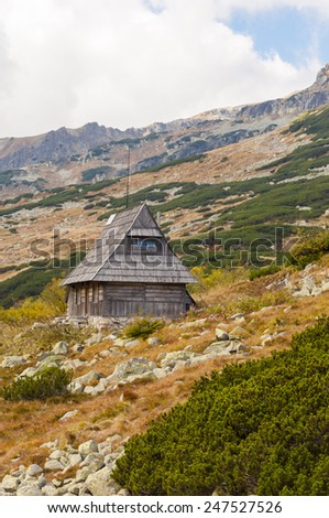 Cottage in the Valley  - stock photo