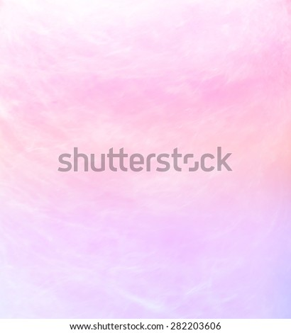 cotton candy with blurred soft colors for background - stock photo