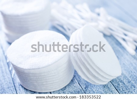 cotton disks