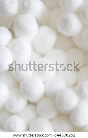 Cotton Ear Cleaning Buds On Black Background