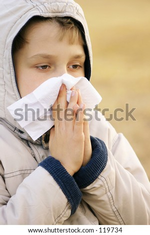 Cough, cold, sniffles, sneeze