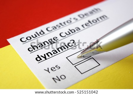 Could Castro's Death change Cuba reform dynamic? Yes