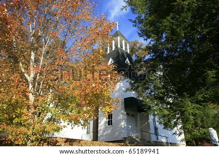 Counry Church in the Cumberland Plateau , near Cookville Tennessee