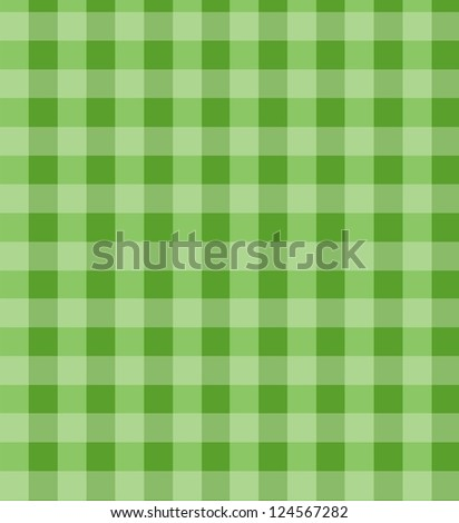 Country, checkered fabric. - stock photo
