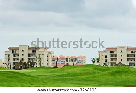 country club - stock photo