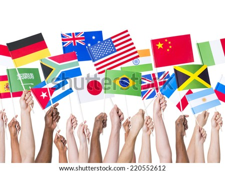 Country Flag - stock photo