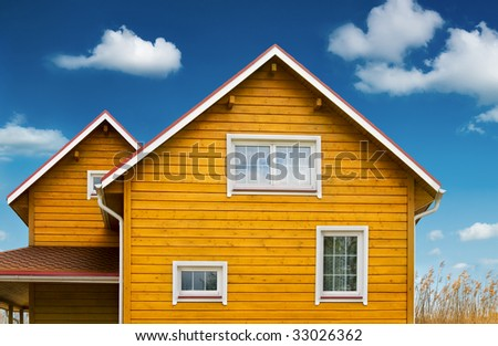 Country home - stock photo