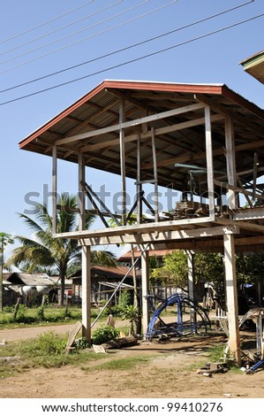 Country House Thailand Style Construction